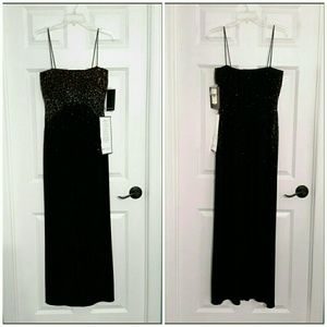 JS Boutique Formal Ankle Length Dress NWT, Size 4